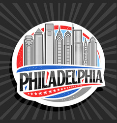 logo for philadelphia vector image