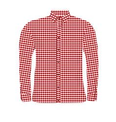 Man shirt vector