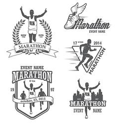 Marathon 1 vector