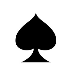 Playing card casino symbol playing vector