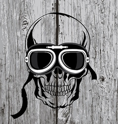 Skull T-shirt design Tattoo art vector