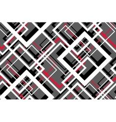 Trendy Contrast Geometric Seamless Pattern vector