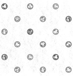 Zodiac grungy sparse pattern vector