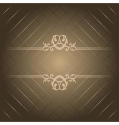 brown luxury background vector image vector image