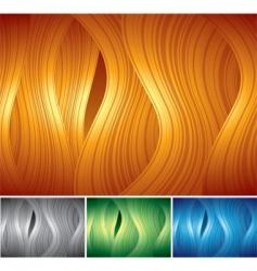backgrounds set vector image