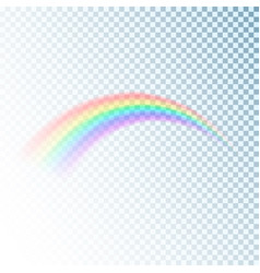 rainbow icon colorful light and bright design vector image