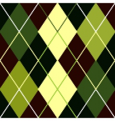 Argyle pattern vector