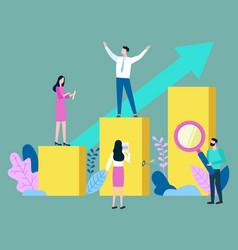 Business idea for development company vector