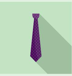 cravat icon flat style vector image