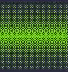 Green halftone dot pattern background - abstract vector