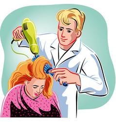 Hairdresser vector