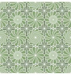 meadow pattern vector image vector image