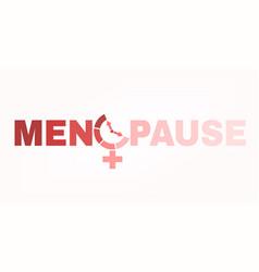 Menopause logo image vector