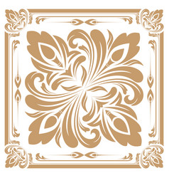 retro graphic ornament vector image