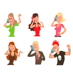 successful professional business people character vector image