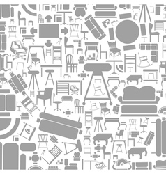Furniture a background2 vector image vector image