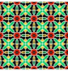 Pattern in Islamic design vector image