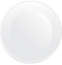 White plate vector