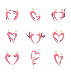 Love couples vector