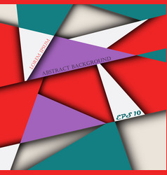 abstract of colorful miracle brochure background vector image