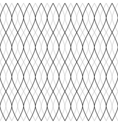 Abstract wavy lines seamless pattern background vector