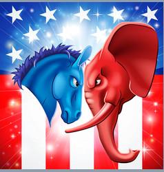 American politics concept vector