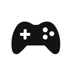 joystick icon vector image