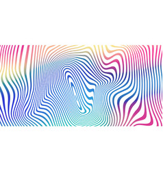 liquid color blend background holographic vector image