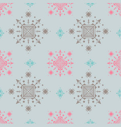 lovely seamless pattern in pastel colors vector image