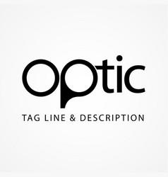Optic symbol vector
