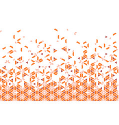 Seamless ribbontraditional japanese ornament vector