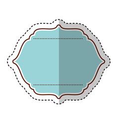 frame elegant isolated icon vector image