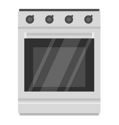 modern gas oven icon cartoon style vector image