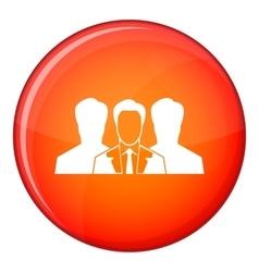 Recruitment icon flat style vector image