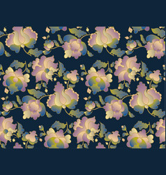 ethnic folk floral element for surface design vector image vector image