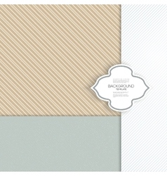 Seamless striped grunge pattern Vintage design vector image vector image