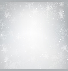 Abstract background snow falling against grey 001 vector