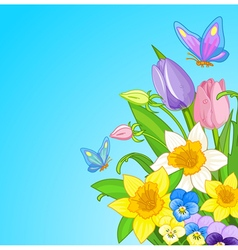 Easter Bouquet vector image