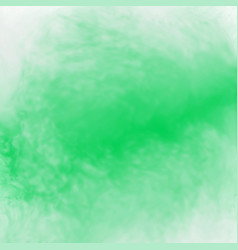 Green abstract watercolor background texture vector