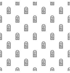 House door pattern seamless vector