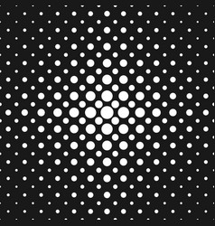 monochrome halftone dot pattern background vector image