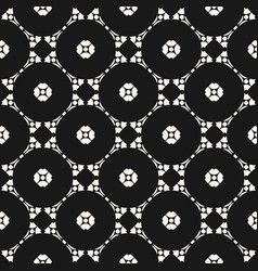 Ornamental seamless pattern carved shapes vector