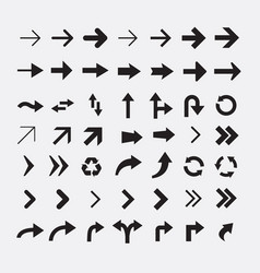 set of arrow icons version 2 vector image