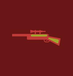 Sniper rifle eps vector