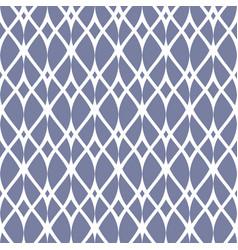 Vintage seamless pattern thin wavy elegant lines vector