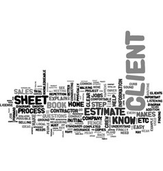 what s in you sales book text word cloud concept vector image