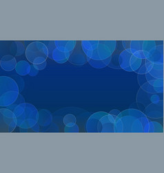 abstract bubbles background with copy space for vector image