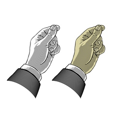 hand giving or take something vector image