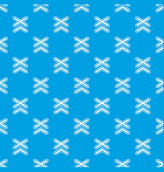 two line non barrier railways pattern vector image