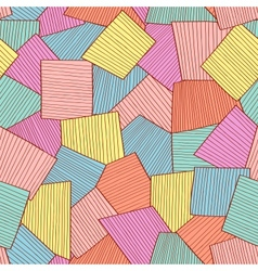 Abstract tile pattern vector image vector image